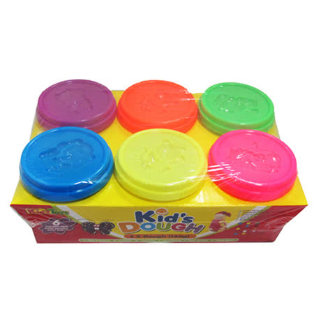 kid's Dough-美國無毒6粉色黏土(140g)