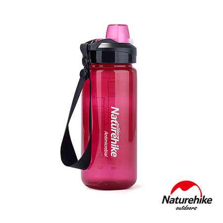 Naturehike 輕量易開式A060運動水壺 水瓶 500ml 酒紅
