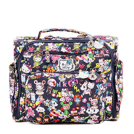 【美國Ju-Ju-Be媽媽包】Hello Kitty x tokidoki 聯名款-BFF後背/側背包:Dream World 環遊世界
