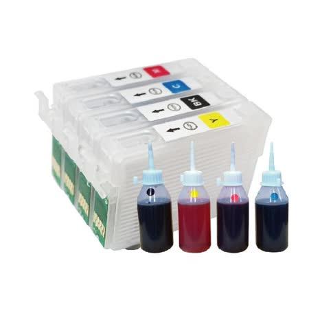 YUANMO EPSON 133/T133 填充式墨水匣組 TX430W/TX235 專用