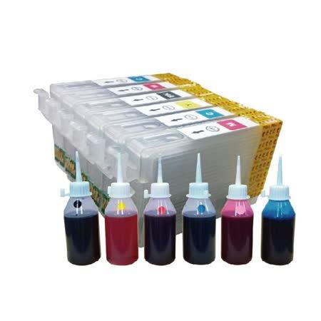 YUANMO EPSON 82N 填充式墨水匣組 TX800FW/TX820FW 專用