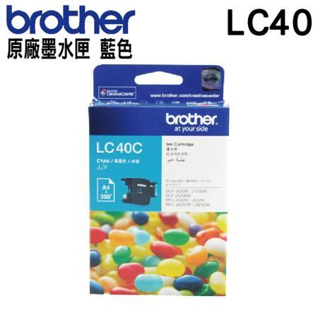 Brother LC40 藍色 原廠墨水匣