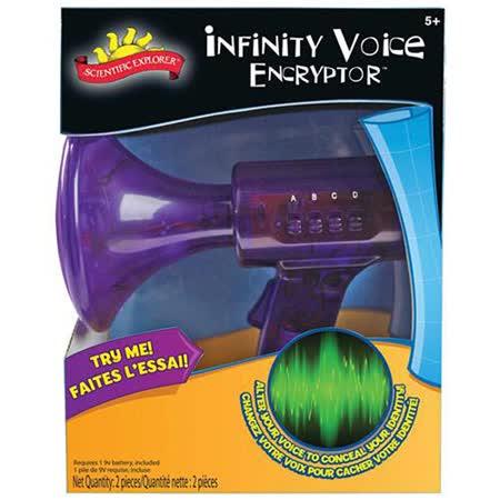 美國Scientific Explorer 發現科學-變聲器