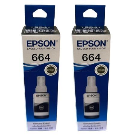EPSON T6641 黑色 原廠墨水匣