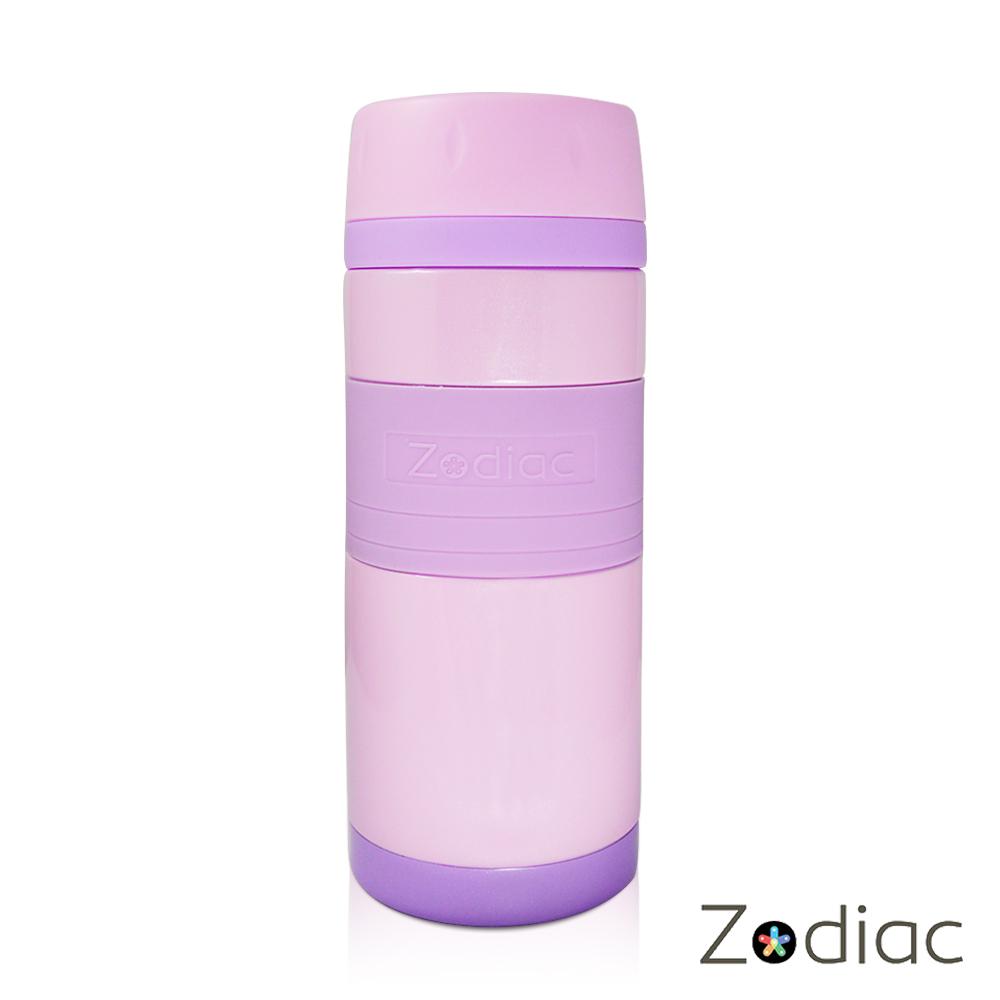 Zodiac諾帝亞 ^#316不銹鋼炫彩真空保溫瓶350ml^(ZOD~MS0204^)