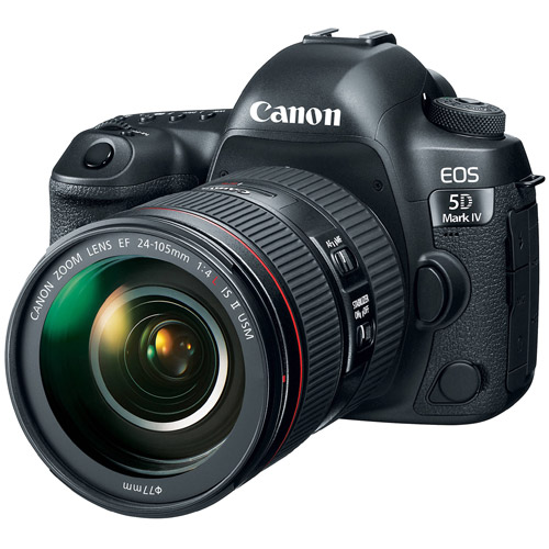 Canon EOS 5D Mark IV (5D4) EF 24-105mm f/4L IS II USM(公司貨)-加送128G/90MB記憶卡