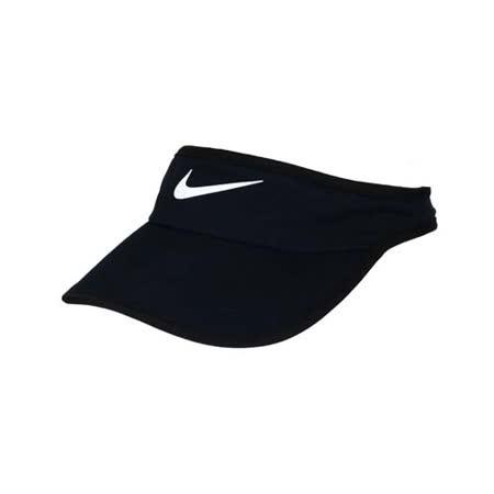 NIKE 運動帽 -中空帽 遮陽 高爾夫 帽子 路跑 慢跑 丈青白 F