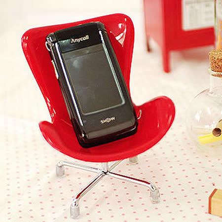 【 PS Mall 】  韓國熱賣創意椅子造型置物架 手機座 J606