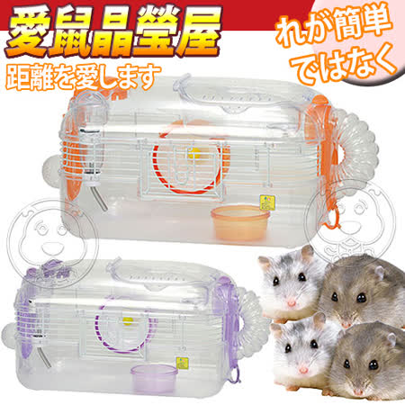 SAIKO X-44》寵物愛鼠晶瑩屋中型鼠籠