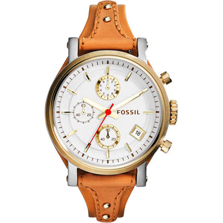 【部落客推薦】gohappy快樂購物網FOSSIL 雅典女仕時尚計時腕錶-銀/38mm ES3615有效嗎愛 買 三重 營業 時間