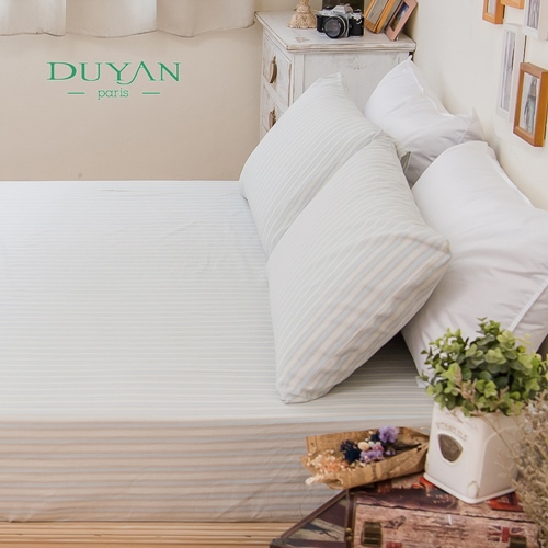 DUYAN~雲想天際~天然 純棉雙人三件式床包組
