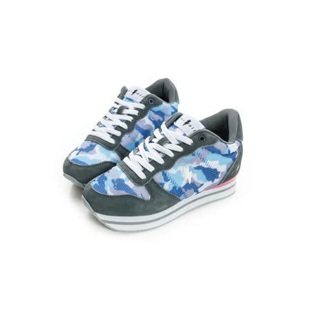 eclair[50011-8]時尚多彩真皮7cm增高鞋-灰