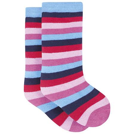 英國 JoJo Maman BeBe 嬰幼兒保暖雨鞋襪_淺色條紋(JJWS01)
