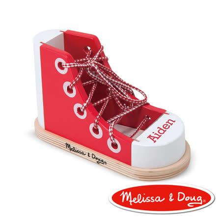 美國瑪莉莎 Melissa & Doug 綁鞋帶練習鞋