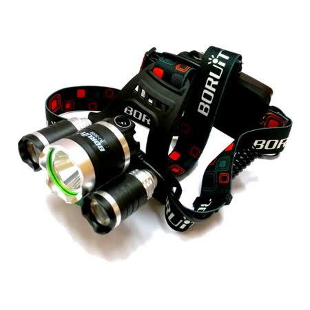 CREE T6 LED易大師三眼頭燈(RJ3000)
