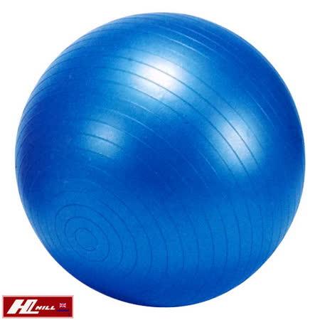 【HILL】台灣製 65公分 防爆抗力瑜珈球附手壓式打氣筒(P1103-1)