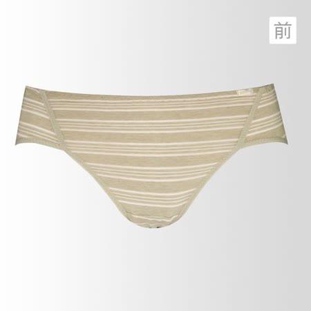 【黛安芬】eco chic裸紗原棉高腰M-EL生理內褲(裸紗棉)