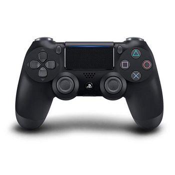 SONY PS4原廠DS4光條觸碰板無線震動手把 極致黑CUH- ZCT2G