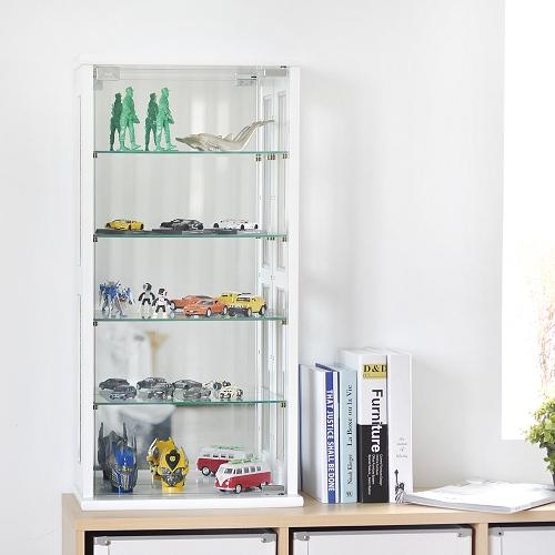 ~Peachy life~80cm直立式玻璃展示櫃公仔櫃模型櫃 ^(兩色^)