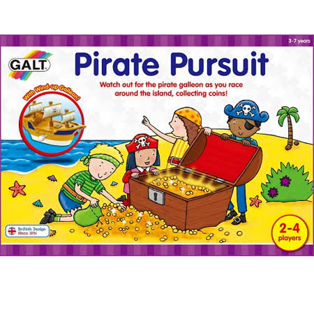 英國GALT桌遊-海盜大進擊