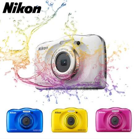 Nikon COOLPIX W100 防水 防寒 防摔  (公司貨)~送32G高速卡+專用電池+專用座充+自拍棒+清潔組+讀卡機+螢幕保護貼+MINI腳架