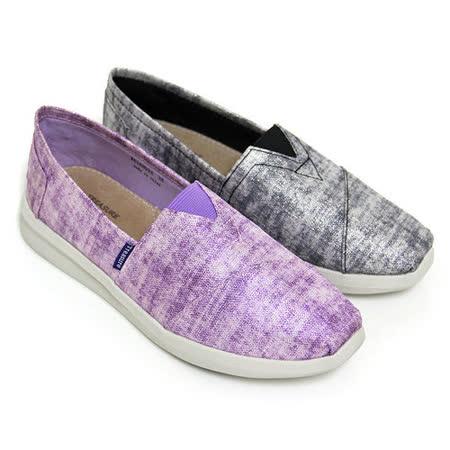 【GREEN PHOENIX】炫彩亮粉套入式休閒鞋