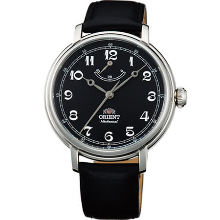 ORIENT 東方錶 經典復古手動上鍊時尚機械錶/40mm/FDD03002B