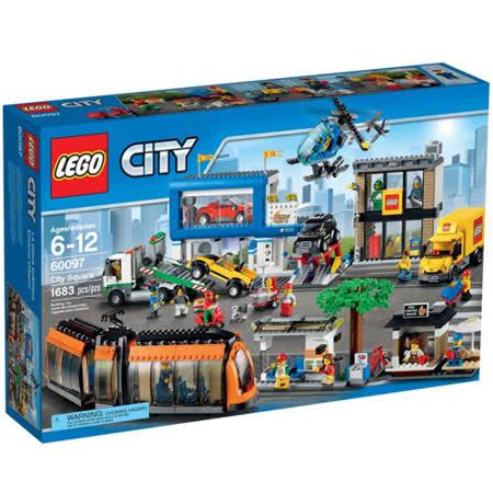 LEGO《 LT60097 》2015 年CITY 城市系列 - 城市廣場