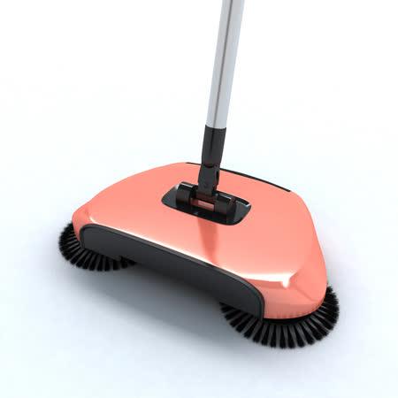 YUWA手推式掃地機 全新2色新登場-粉橘色 SB02