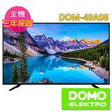比利時DOMO 49型HDMI多媒體數位液晶顯示器+數位視訊盒(DOM-49A08)