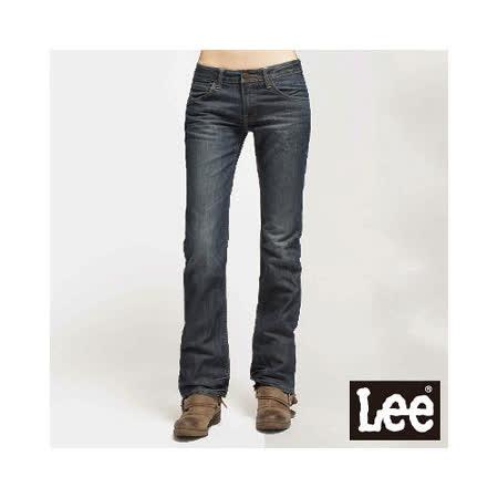 Lee 413 Bliss 超低腰修身靴型牛仔褲 -女款(牛仔藍)