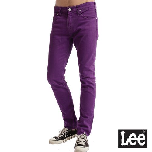 Lee 706合身窄管牛仔褲~男款 紫色