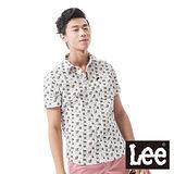 Lee 短袖襯衫 縫紉工具印花-男款(米白)
