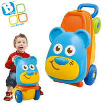 英國《Bkids》寶寶 拉桿行李座車 ~