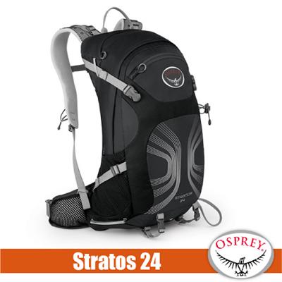 ~美國 OSPREY~新 Stratos 24 透氣立體網架健行背包^(防 防水背包套^)