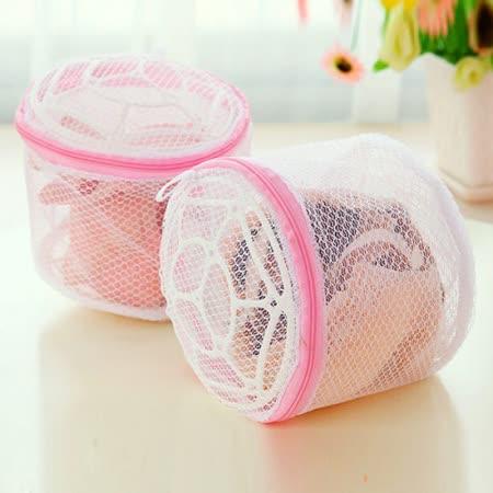 【 PS Mall 】  內衣胸罩專用洗衣袋 (帶支架) 洗衣網 3入 J021