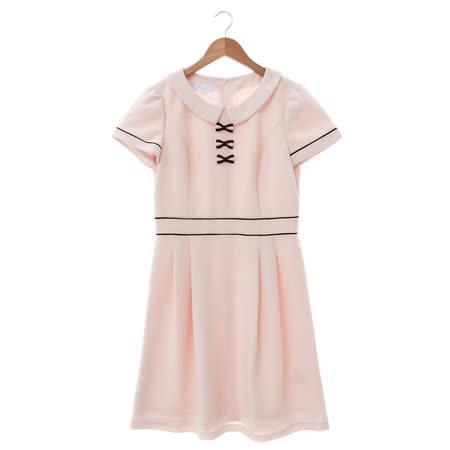 IRIS 優雅洋裝-粉