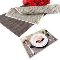 仿竹編織有邊桌墊/餐墊-10入(EZ-TB2)