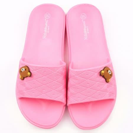 童童鞋城堡-拉拉熊 女款 超輕量室內拖鞋KM26141-粉