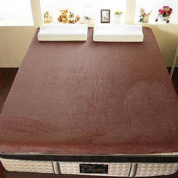 契斯特 12公分幸福舒適透氣記憶床墊 加大6尺-可可亞