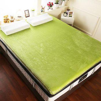 契斯特 12公分幸福舒適透氣記憶床墊 加大6尺-青草綠