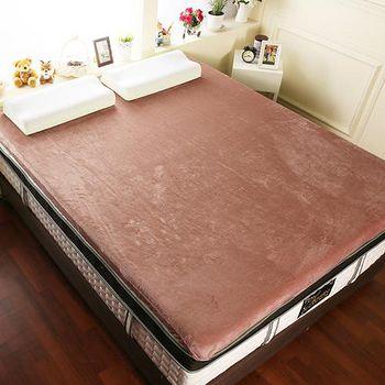 契斯特 12公分幸福舒適透氣記憶床墊 加大6尺-核桃棕