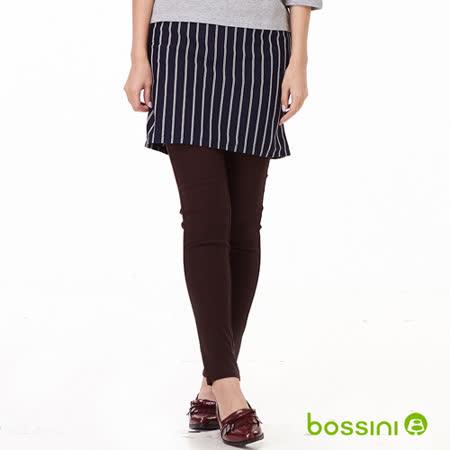bossini女裝-超彈窄管褲07酒紅