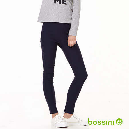 bossini女裝-超彈窄管褲07海軍藍
