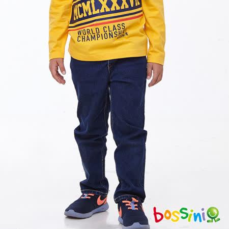 bossini男童-牛仔長褲01靛藍