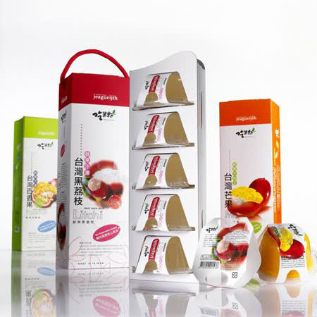 吃果籽鮮果汁果凍-任選 15 條(共75杯)