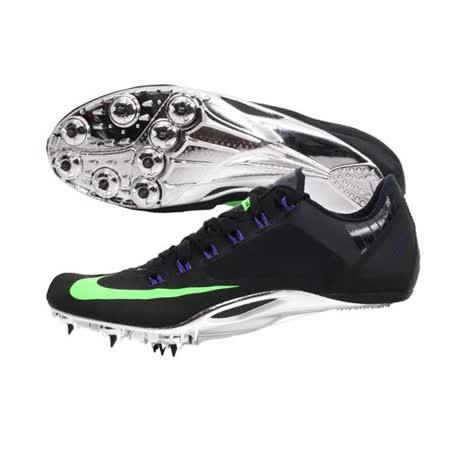 (男女) NIKE ZOOM SUPERFLY R4 田徑釘鞋-短距離 跨欄 附鞋帶 黑螢光綠