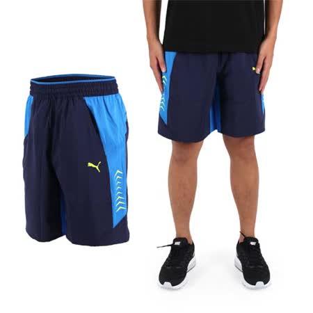 (男) PUMA VENT訓練系列平織運動短褲-慢跑 路跑 健身 丈青藍