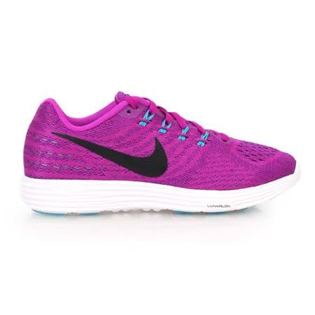 (女) NIKE LUNARTEMPO 2慢跑鞋-  路跑 健身 半馬 全馬 紫藍