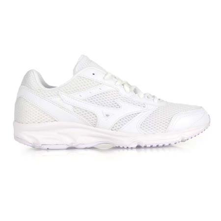 (男女) MIZUNO MAXIMIZER 18 慢跑鞋- 路跑 美津濃 白